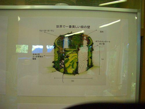 世界で一番美しい緑の壁プラン図