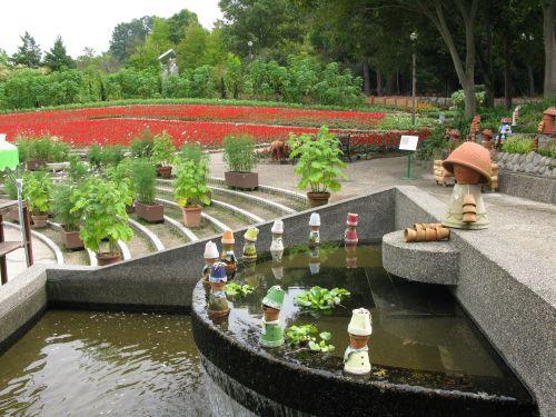 大花壇の風景2008年9月25日